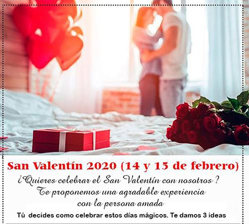 San Valentín en Aldea Os Muiños.